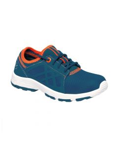 Regatta Kids' Marine Sport II Trainers Sea - Blue Blaze Orange