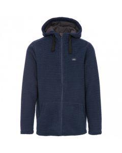 Trespass Napperton Men's Hooded Fleece Jacket - Navy