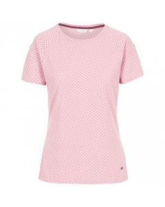 Trespass Ani Women's Printed T-Shirt - Lilac Haze Marl Dot
