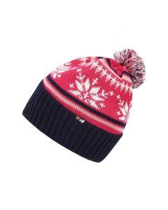 Skogstad Nostalgi Knitted Hat - Fuchsia Pink