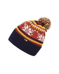 Skogstad Nostalgi Knitted Hat - Terracotta