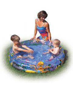 Bestway Ocean Life Kids Paddling Pool - 1.22m