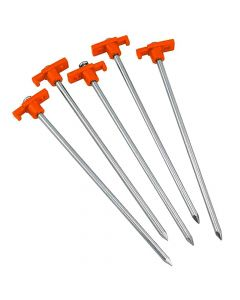 23cm Piledriver Strong Tent Peg Set - Pack of 8