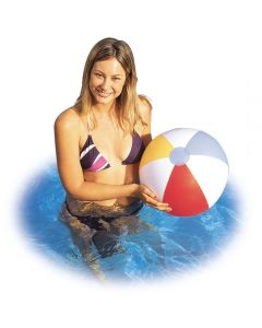 Classic inflatable beach ball