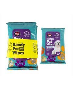 Travel Pet Wipes Multipack