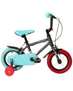 """Raleigh Pop 12 Black - 12"""" Wheel Boys Bike"""