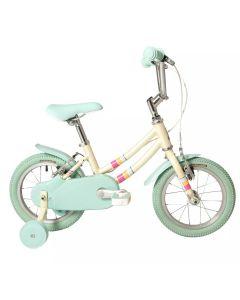 "Raleigh Pop 14 White - 14"" Wheel Girls Bike"
