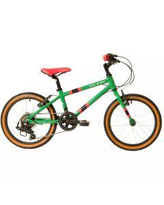 """Raleigh Pop 18 Green - 18"""" Wheel Kids Bike"""