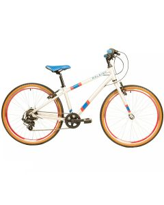 "Raleigh Pop 24 Silver- 24"" Wheel Kids Bike"