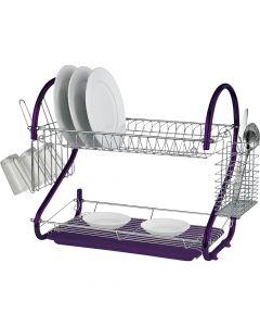 Prima purple dish drainer