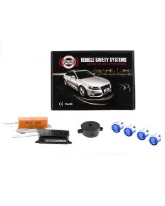 ParkSafe PS540 Rear Parking Sensors Colour Coded - Professional UK Fitting