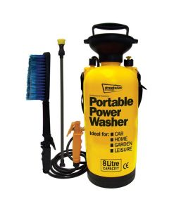Portable Power Washer Set - 8 Litres