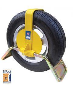 "Bulldog QD33 Wheel Clamp Suits 13"" & 14"" Steel Wheel With Trim"