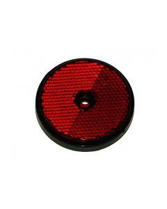 Trailer Side Reflector - Round Red