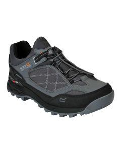 Regatta Samaris Pro Low Waterproof Men's Walking Shoes - Granite