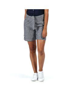 Regatta Samora Women's Casual Shorts - Navy Stripe