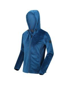 Regatta Women's Siddington Hooded Walking Fleece Blue Opal