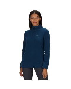 Regatta Women's Sweethart Lightweight Half-Zip Fleece Blue Opal