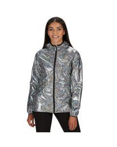 Regatta Turla Waterproof Shell Jacket - Holographic Animal Print