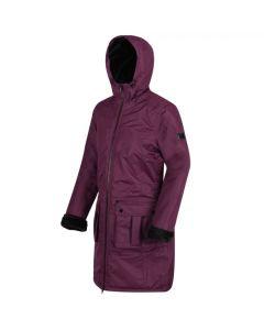 Regatta Women's Romina Waterproof Insulated Parka Jacket - Prune