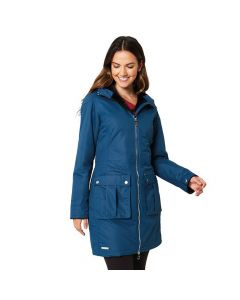 Regatta women's Romina waterproof and Thermoguard insulated jacket - Majollca Blue