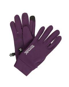 Regatta Touchtip Stretch Gloves - Blackberry