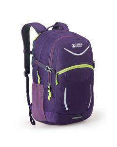 Terra Peak Venture 32L Rucksack - Purple/Lime
