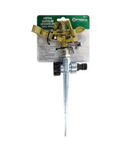 Marksman Metal Impulse Sprinkler With Zinc Spike