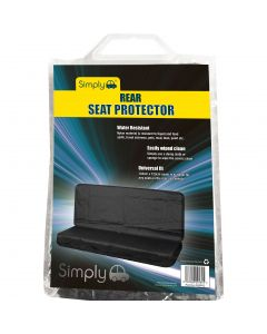 Universal Black Rear Seat Protector