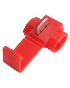 20 Red Electrical Snap Connectors -  0.5-1.0mm2