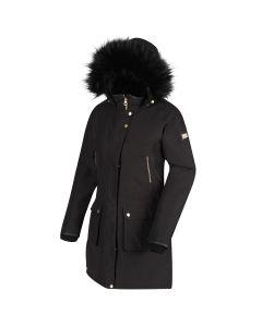 Regatta Women's Safiyya Waterproof Insulated Parka Jacket - Black