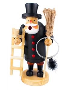 Chimney Sweep Incense Burner Smokerman Figure - 18cm