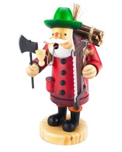Woodcutter Incense Burner Smokerman Figure - 18cm