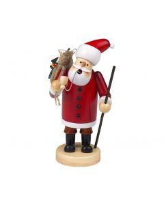 Santa Claus Incense Burner Smokerman Figure - 18cm