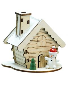 Christmas Smokehouse Incense Burner