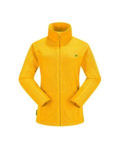 Skogstad Roda Women's Full-Zip Fleece - Saffron