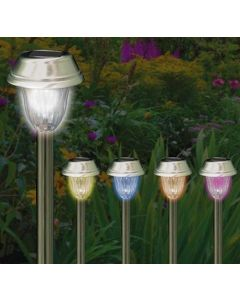 20 Colour Changing LED Solar Lights - Kent Collection