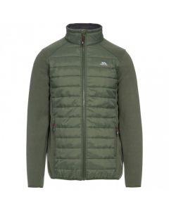 Trespass Saunter Men's Padded Fleece Jacket - Basil