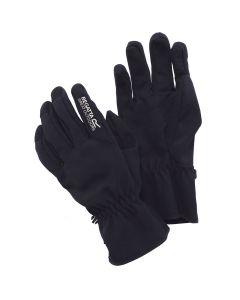 Regatta Mens Softshell Gloves - Black