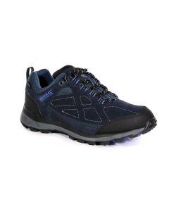 Regatta Women's Samaris Suede Low Walking Shoes - Navy Blueberry Pie