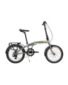 Raleigh Stowaway 7 Folding Bike - Gunmetal