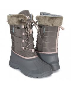 Trespass Stavra II Women's Insulated Waterproof Snow Boots - Storm Grey