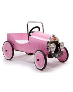 Baghera Classic Pedal Car - Pink
