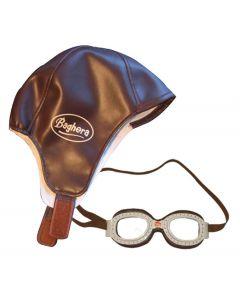 Baghera Vintage Racing Cap & Goggles Set