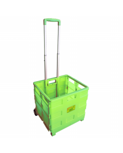 Pack & Go Packaway Trolley - Green