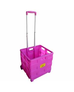 Pack & Go Packaway Trolley - Pink