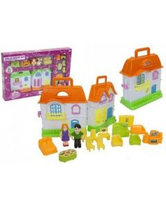 Princess Fold-Out Dolls House Play Set