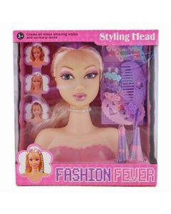 Fashion Fever Doll Hair Styling Head