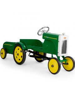Baghera Vintage Style Pedal Tractor & Trailer