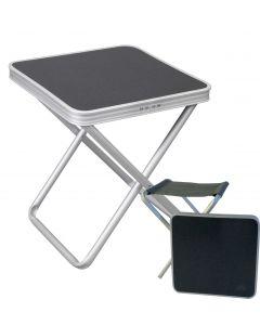 Via Mondo Leisure Table/Stool - Charcoal Top